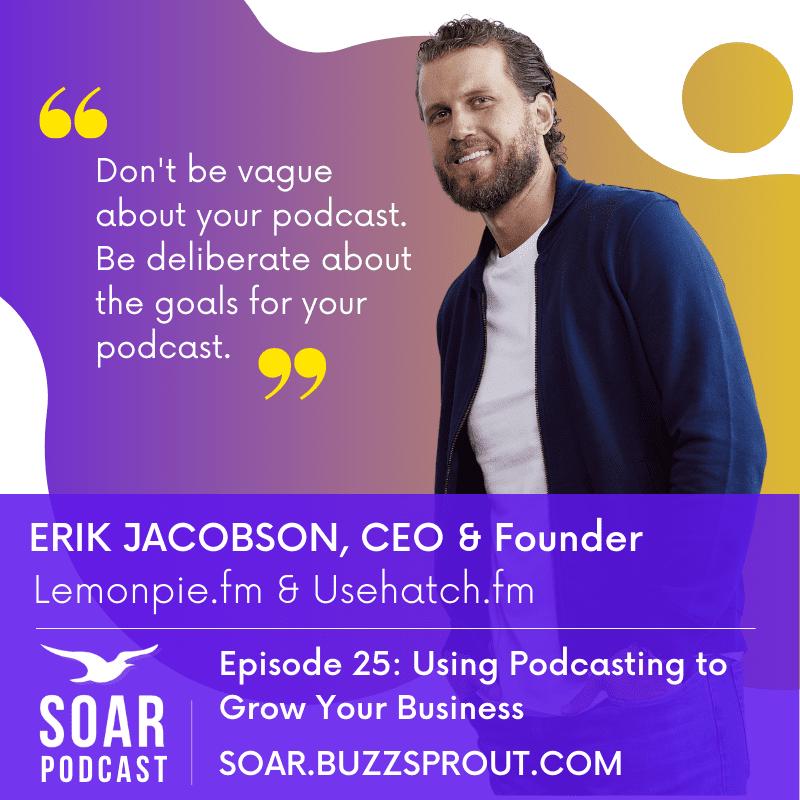 Erik Jacobson episode on the Soar podcast
